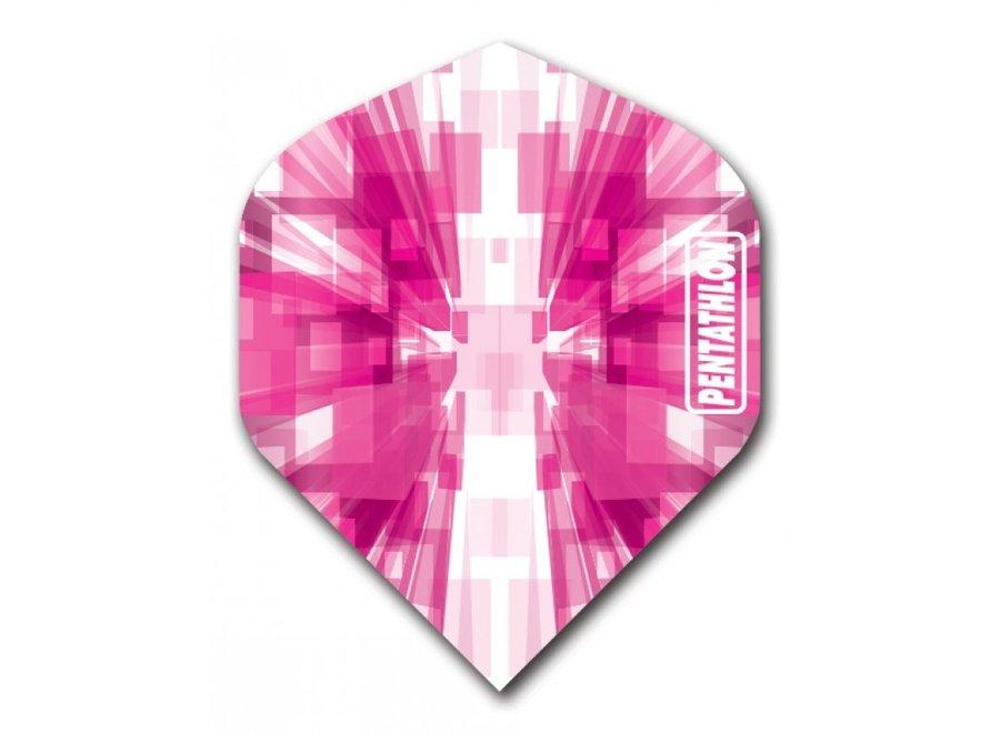 Pentathlon flight burst pink