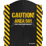 Mission Dartkabinet caution  area 501