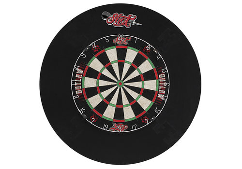 Shot Outlaw tournament dartbord set