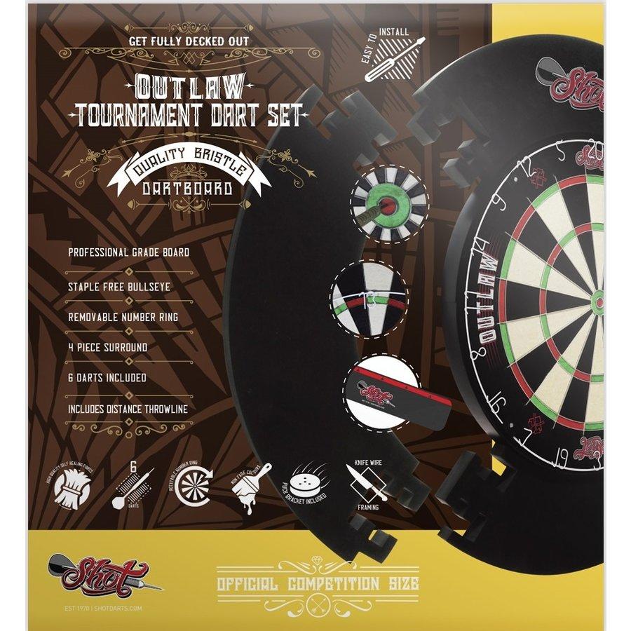 Outlaw tournament dartbord set-2