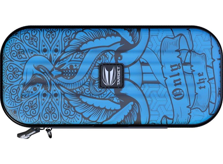Tacoma wallet inked blauw