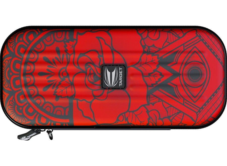 Takoma wallet inked rojo