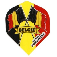 British pentathlon flight Belgie