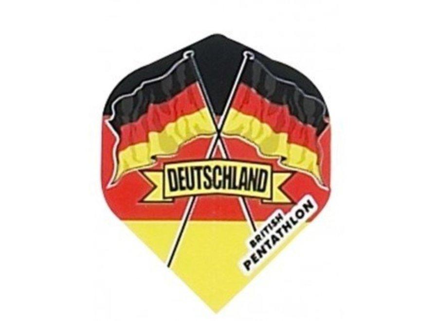 Britischer Pentathlonflug Deutschland