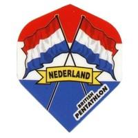British pentathlon flight Nederland