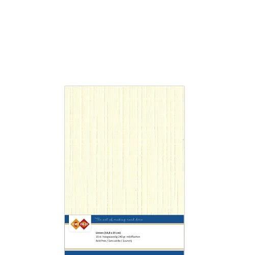 Card Deco Linnenkarton A5