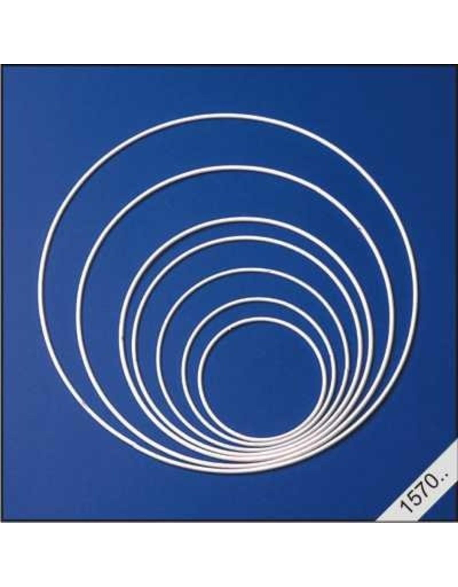 lesuh metalen ringen wit