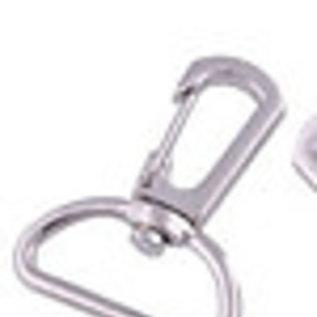 Metalen sleutelhanger ± 39x30mm