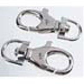 Metalen sleutelhanger/sluiting ± 50x21x8mm