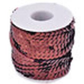 Kunststof paillettenband ± 6mm (± 20 meter per rol)