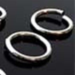 Aluminium ringetje rond 15mm (± 1,8mm dik) (± 15 st.)