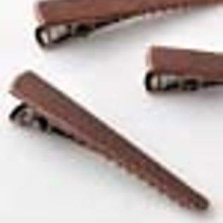 Metalen haarspeld krokodillenklem ± 48mm