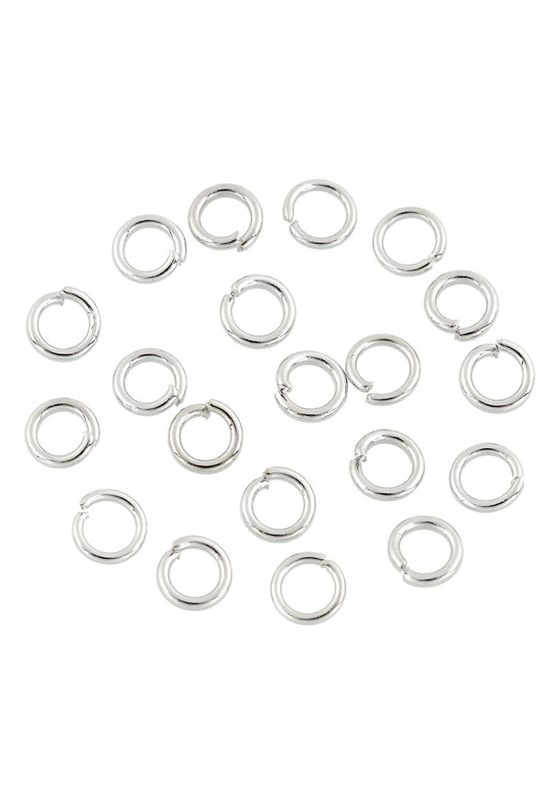 Metalen ringetje rond 8mm (± 1,0mm dik)