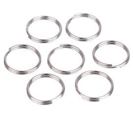 Roestvrijstalen dubbele ringetjes 10mm