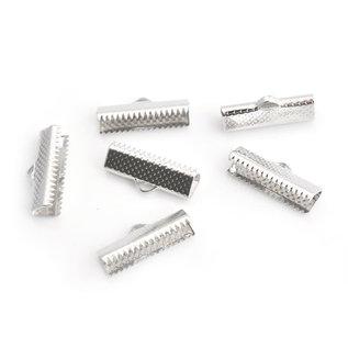 Metalen veter/lintklemmetje 8x16mm