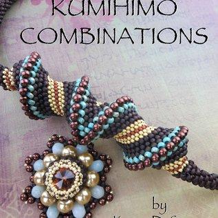 Boek Kumihimo combinations (Karen DeSousa