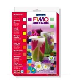 FIMO Fimo soft set - etui 24 halve blokken