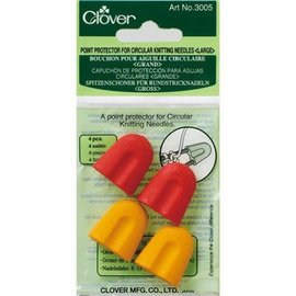 Clover Point protector circular knitting L