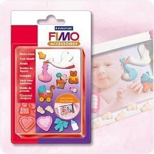 Fimo Kunststof Duwvorm Baby