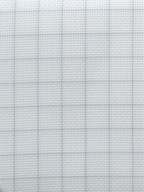 Zweigart Borduurstof Easy Count Aida 14 ct, White 50x55 cm - Zweigart