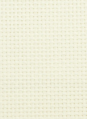 Borduurstof Aida 14 count - White - Übelhör