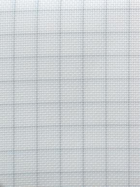 Borduurstof Easy Count Aida 14 ct, White 110cmx100cm cm - Zweigart
