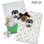 Borduurpakket 2 mini Kaarten Sheep - Luca-S