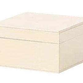 Hout poplar doosje 8x6x5