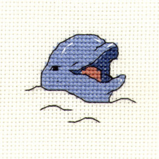 Mouseloft Smiling Dolphin borduurpakket