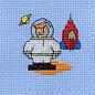 Mouseloft Spaceman borduurpakket
