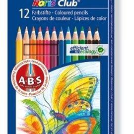Noris Club kleurpotlood - set 12 st