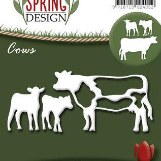 Amy spring design cows