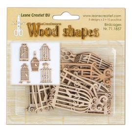 Wood shapes Birdcages
