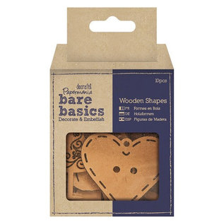 Bare basics wooden shapes haberdashery