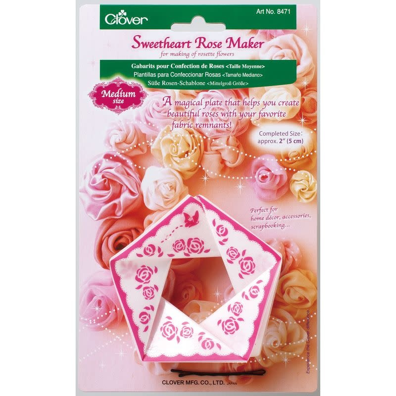 Clover Sweetheart Rose maker med.