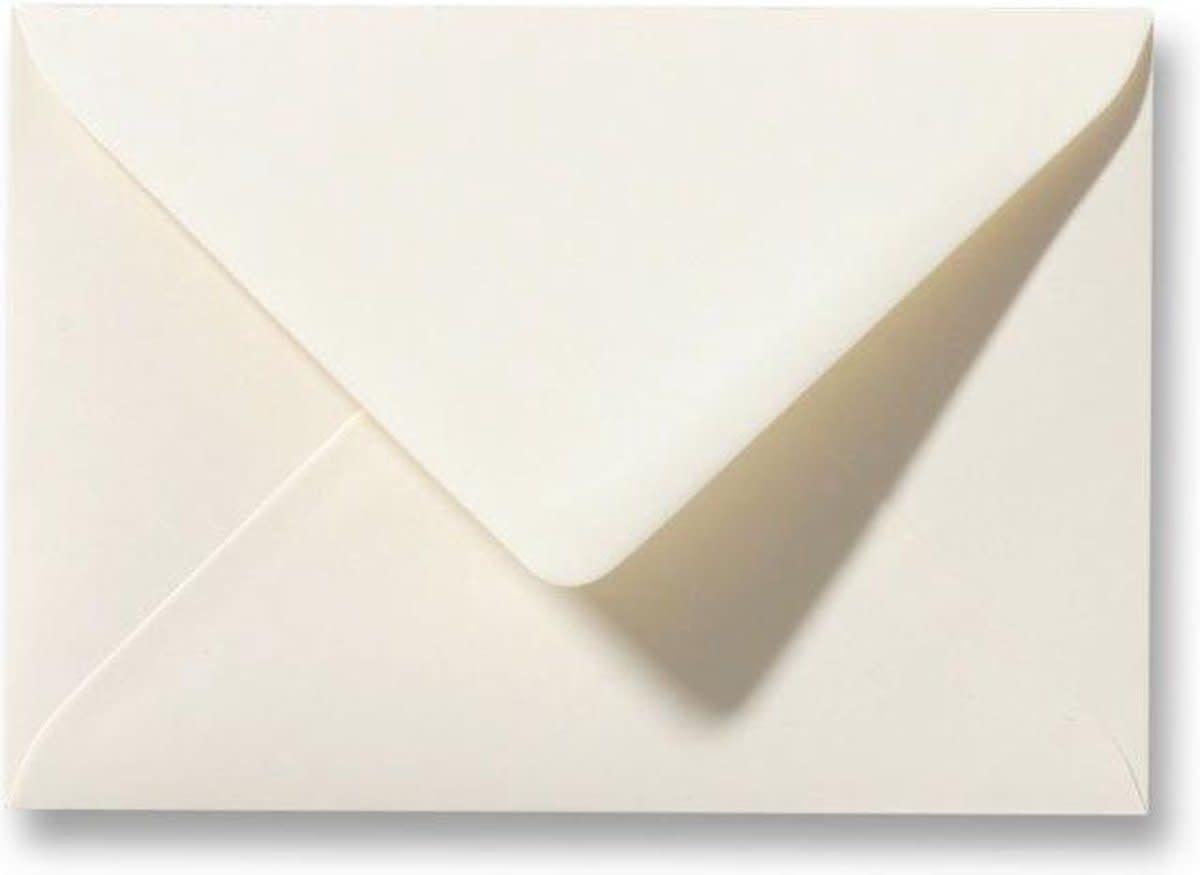 Enveloppen C6 ivoor offwhite (per stuk)