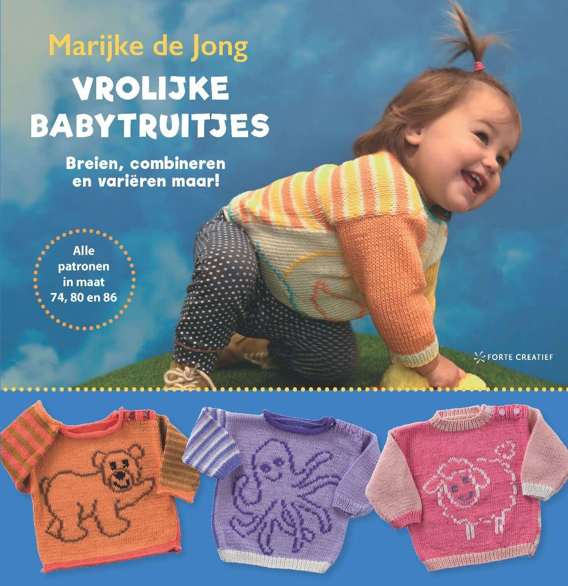 Vrolijke babytruitjes breien - Marijke de Jong