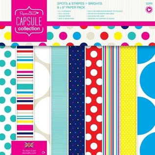 PMA capsule collection spots & stripes 8x8 paperpack