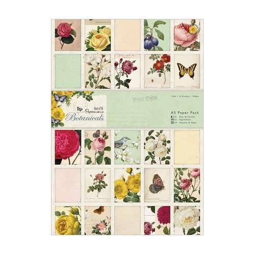 docrafts PMA botanicals A4 paperpack