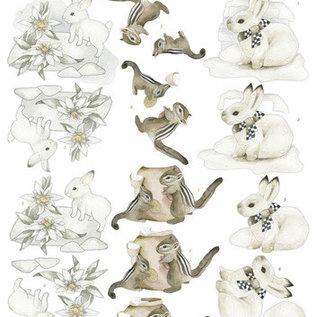 3D Knipvel - Precious Marieke - Winter Wonderland - Winter Animals