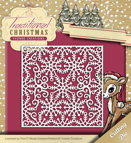 Yvonne Creations Traditional Christmas snijmallen kerst