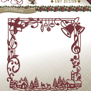 amy design christmas greetings kerst snijmallen