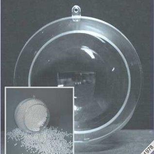 Plastic bal 12cm met opening