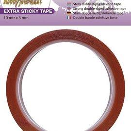 Hobbyjournaal Extra Sticky Tape 3 mm