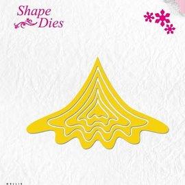 Shape Dies - Build-up Christmas tree snijmal