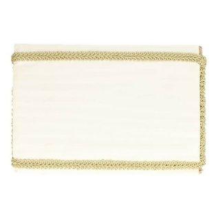 Tresband 11mm goud (per meter)