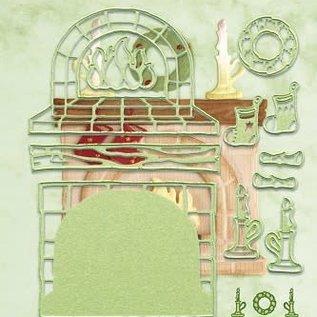 Lea bilitie® fireplace 3D snij en embossing mal