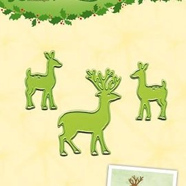 Lea bilitie® Deer snij en embossing mal