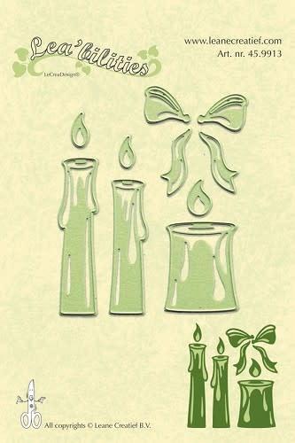 Lea bilitie® candles snij en embossing mal