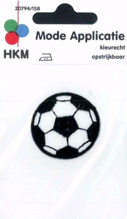 HKM applicatie voetbal zwart